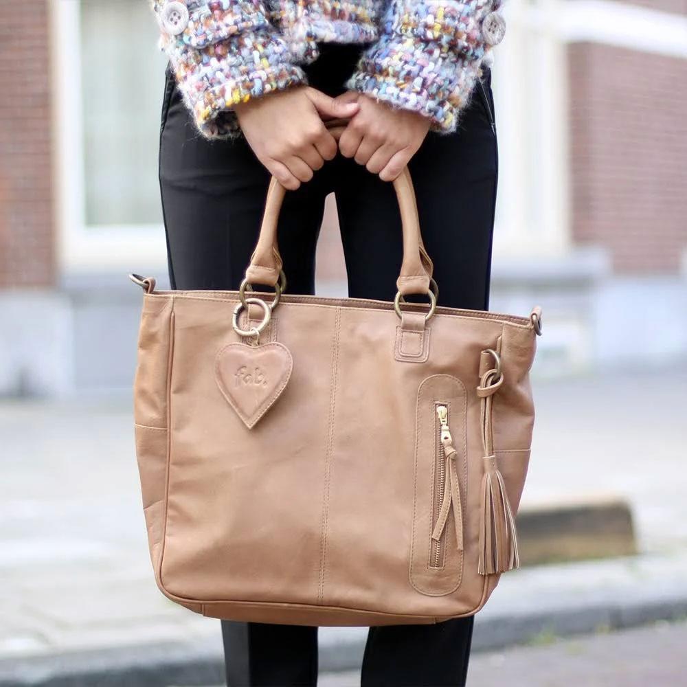 Fabienne Chapot tas €80 (met code - elders va €126) + gratis linnen tas @ VTwonen