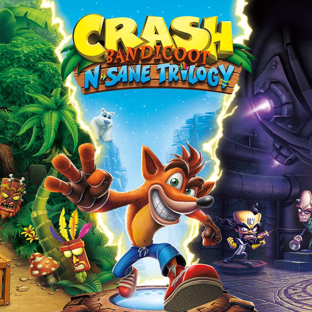 Crash Bandicoot N. Sane Trilogy - Switch @Nintendo