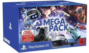 Sony Playstation VR Mega Pack inclusief 5 games voor €259 @ Amazon.de