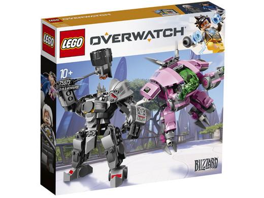 Lego Blizzard Overwatch D.Va & Reinhardt (75973) @ iBOOD