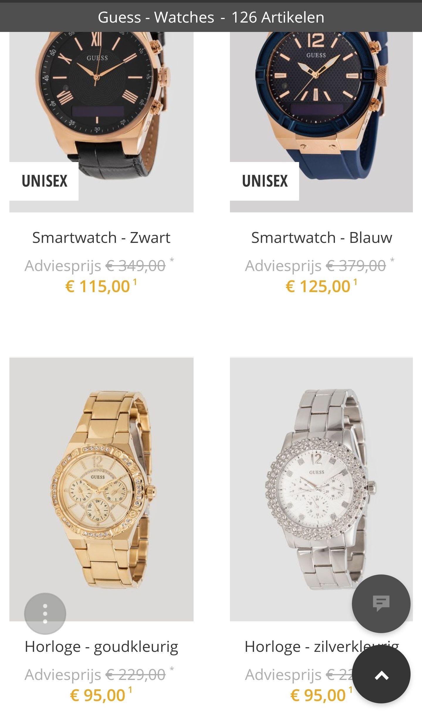 Gues Horloges @Zalandolounge
