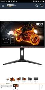 AOC C24G1 Gaming Curved Monitor