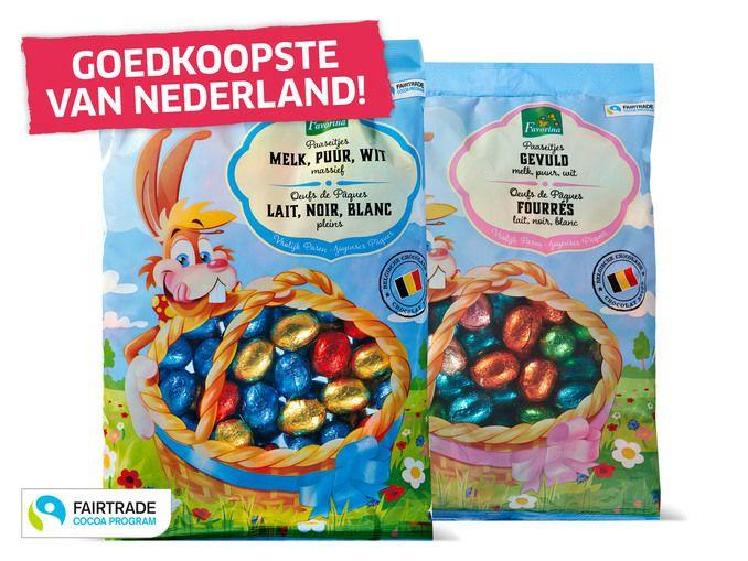 1 kilo chocolade eitjes [goedkoopste van Nederland]