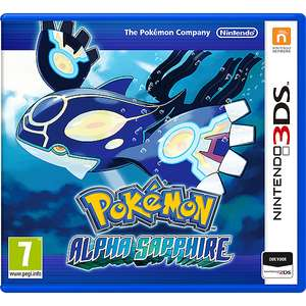 Pokemon Alpha Sapphire - voor 2DS + 3DS @ Amazon.de