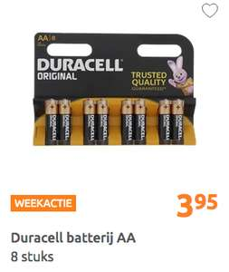 duracell batterijen bij Action