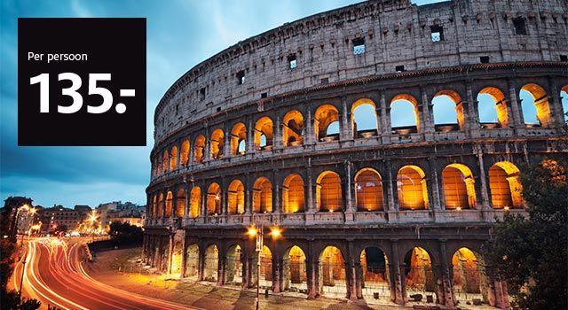 Italiaanse stedentrip naar keuze voor €135 || Etos