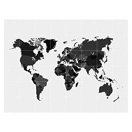 Ixxi muurdecoratie 'The World' - 120 x 160 cm - met code €69,50 @ VTwonen