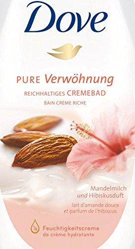 Dove Badschuim Purely Pampering Amandelmelk and Hibiscus bij amazonde(3x750ml)