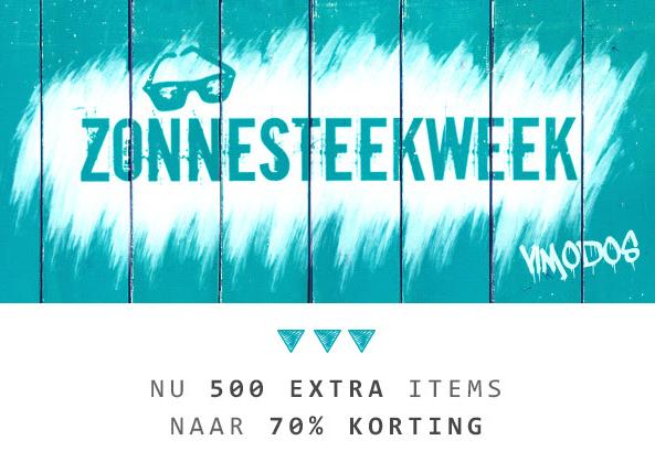 500 items met 70% korting tijdens de Zonnesteekweek @ Vimodos