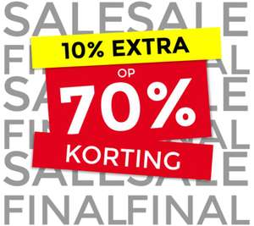 Sale + 10% extra korting + 2e jeans 30% extra + €10 extra (va €75) @ Score
