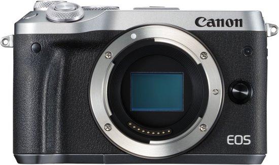Canon EOS M6 Zilver voor €281 @ Bol.com