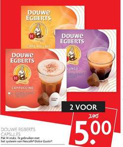 Douwe Egberts Cups (Dolce Gusto)