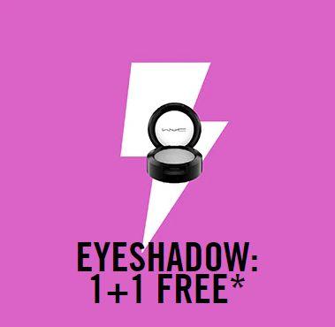 MAC oogschaduw 1+1 gratis