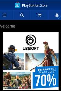 Ubisoft sale playstation store