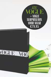 11x Vogue + Vogue surprisebox voor €79,95