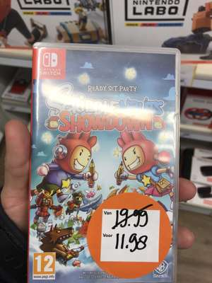 Scribblenauts™ Showdown (voor de Switch)