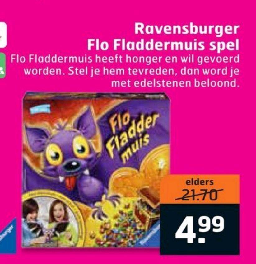 Flo fladdermuis spel voor kinderen bij trekpleister