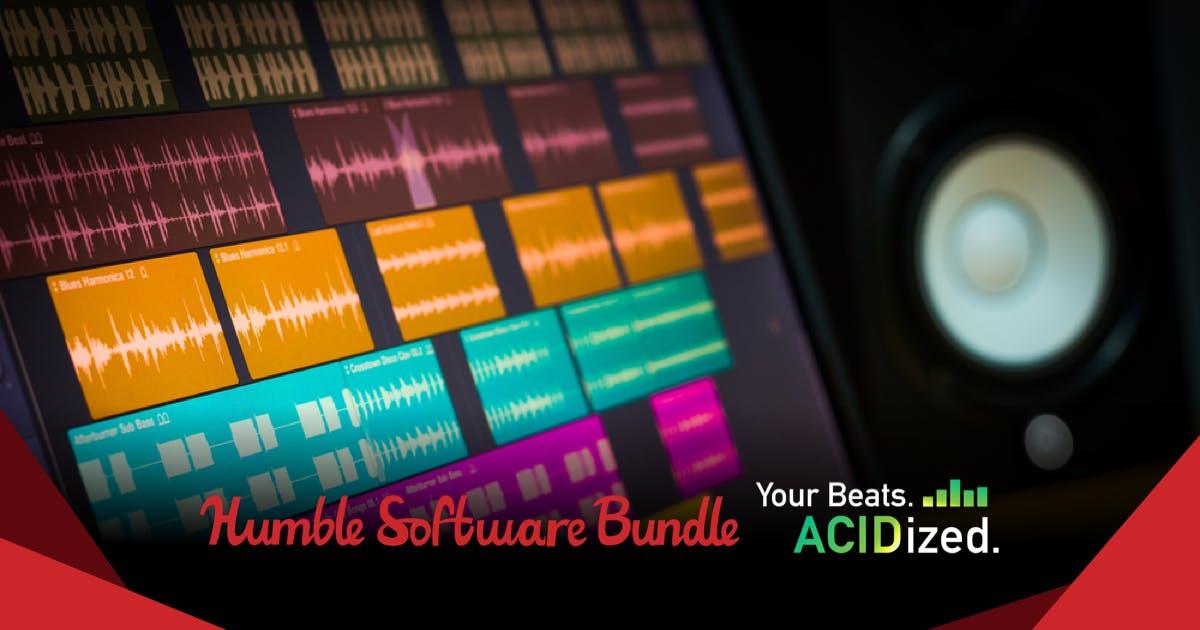 Magix muziek-software bundel vanaf €0,88 @ Humblebundle