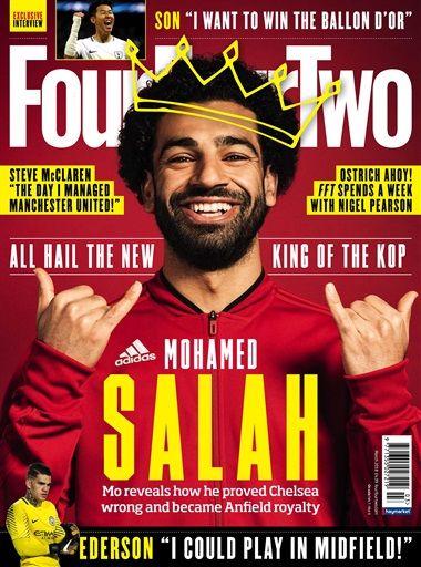 Gratis exemplaar Fourfourtwo voetbal tijdschrift