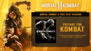 Free Play Days: Mortal Kombat X @ Xbox Live Gold