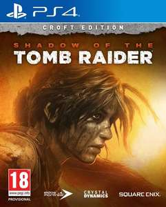 Shadow of the Tomb Raider Croft Edition (PS4) @ Game Outlet