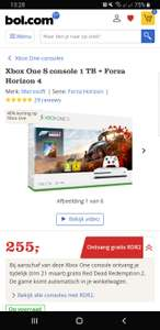 Xbox One S console 1 TB + Forza Horizon 4 + Red Dead Redemption 2