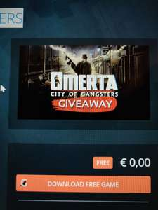 Omerta - City of Gangsters Giveaway @Gamesessions