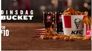 Dinsdag bucket deal KFC