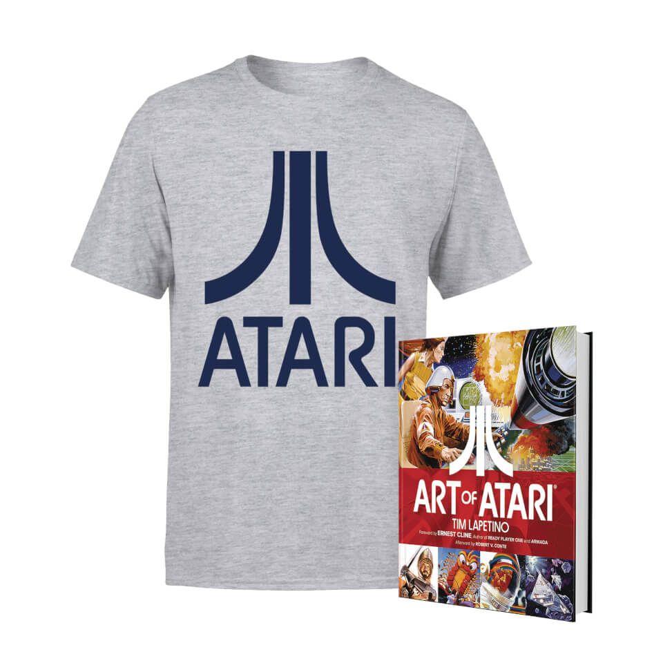 Atari t-shirt + Art of Atari boek