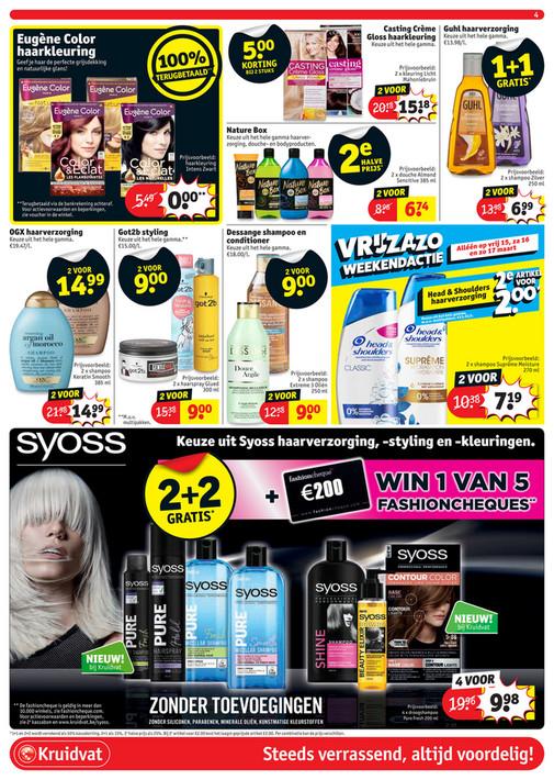 Kruidvat Belgie Gratis Fa Deo Spray Vanaf Dinsdag 1203waarde 339