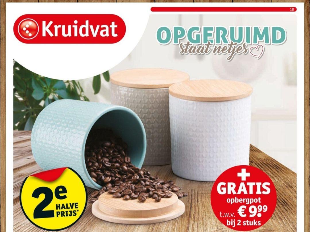 2x Neutral wasverzachter + Luxe opbergpot t.w.v. €9,99 + gratis verzending naar je HUIS voor €2,59 in totaal @Kruidvat