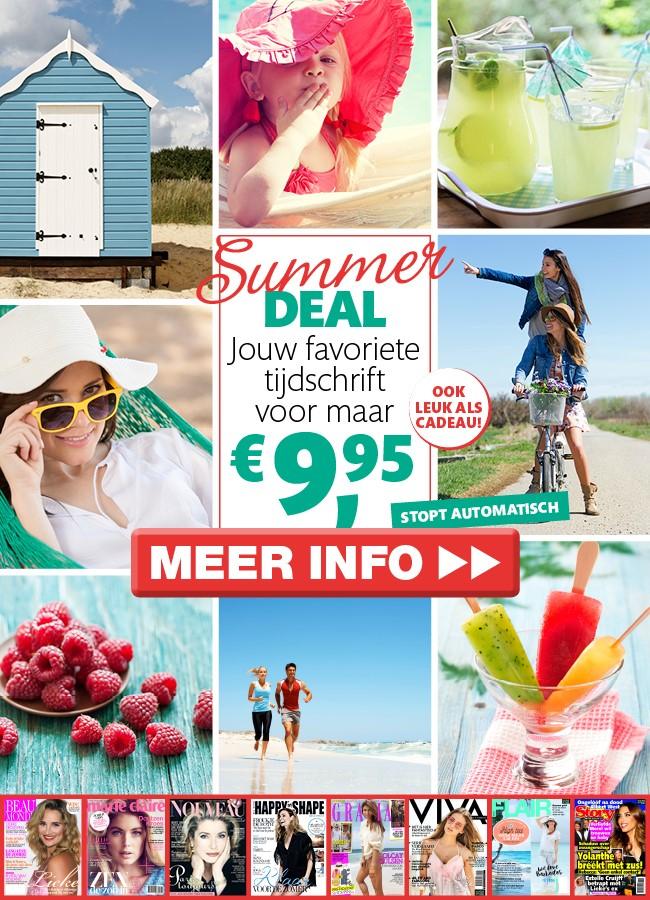 Jouw favoriete tijdschrift 3 of 6 x in de bus voor €9,95 @ Magazine.nl