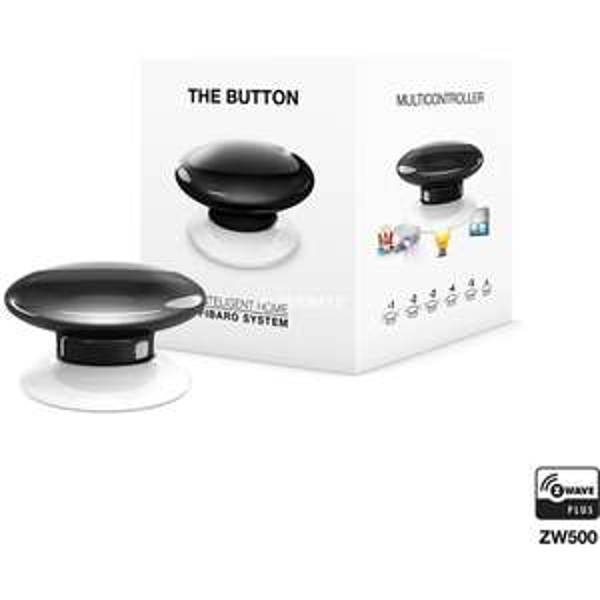 Fibaro The Button Zwart @ Informatique