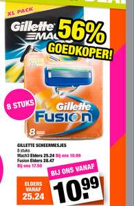 8-pack Gillette Mach 3 ( @Big Bazar )