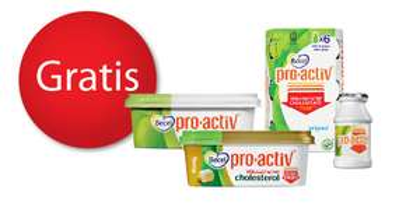 Gratis Becel pro-activ product (geld terug)