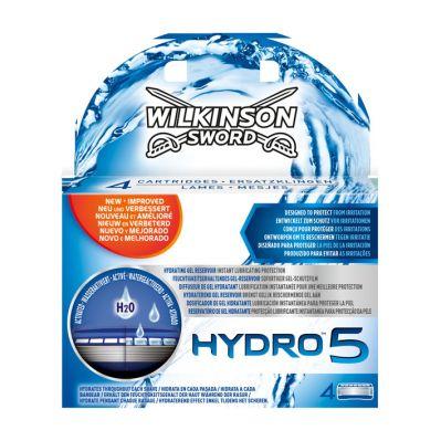 5+5 Wilkinson Sword hydro5 ultraglide scheermesjes (-50%)