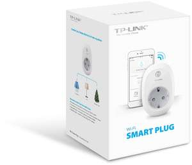 TP-Link Wi-Fi Smart Plug HS100 (EU stekker) @ Media Markt