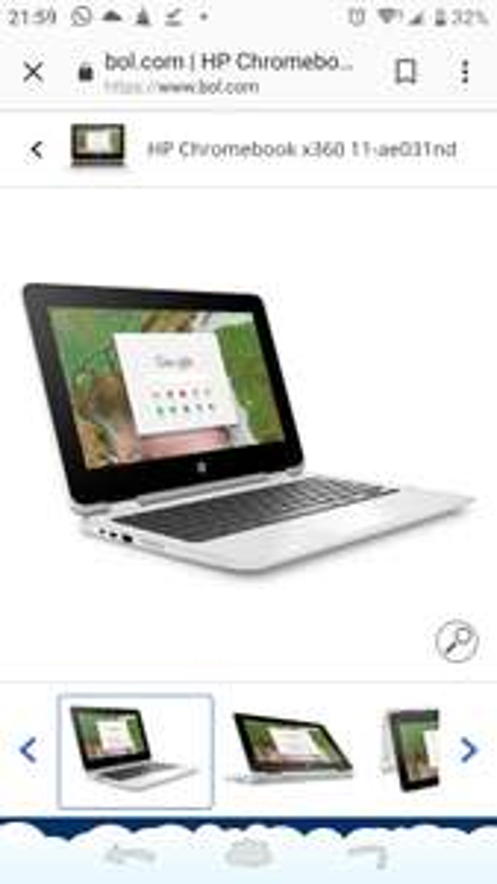 Bcc HP chromebook x360 11