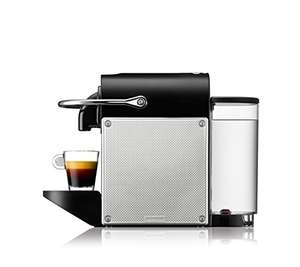 DeLonghi Pixie en 125.S nespresso-capsules Electric Aluminium  bij amazon