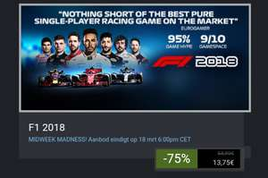 F1 2018 pc game op steam
