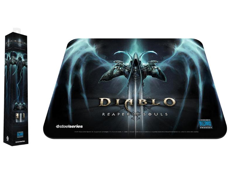 SteelSeries Diablo 3 Reaper of Souls Gaming Muismat voor €4,99 @ Media Markt