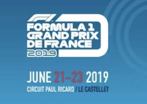 € 45,= KORTING - THE 2019 FRENCH F1 GRAND PRIX