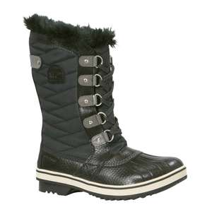Sorel Tofino II Black Quarry kids snowboots -73% @ Wehkamp