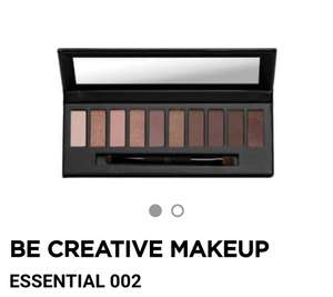 Be Creative Make Up Essential 002 palette van €32,95 voor €15,00 @ Ici Paris XL