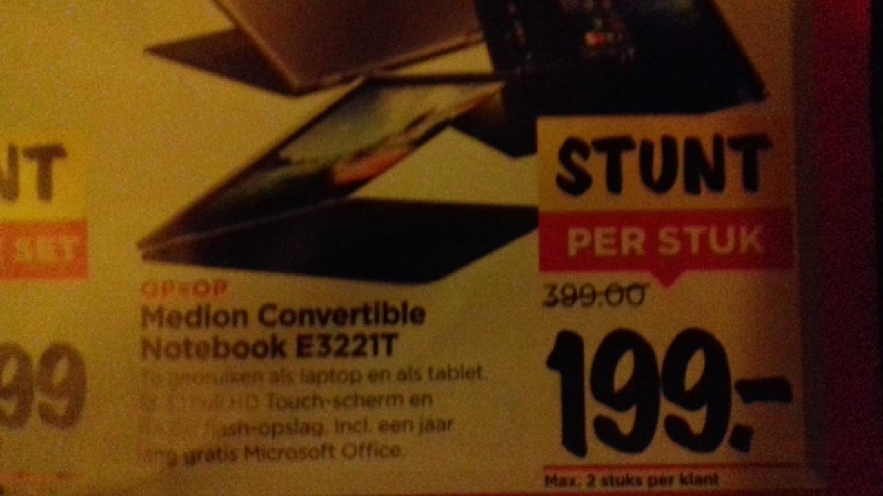 Medion Convertible Notebook E3221T