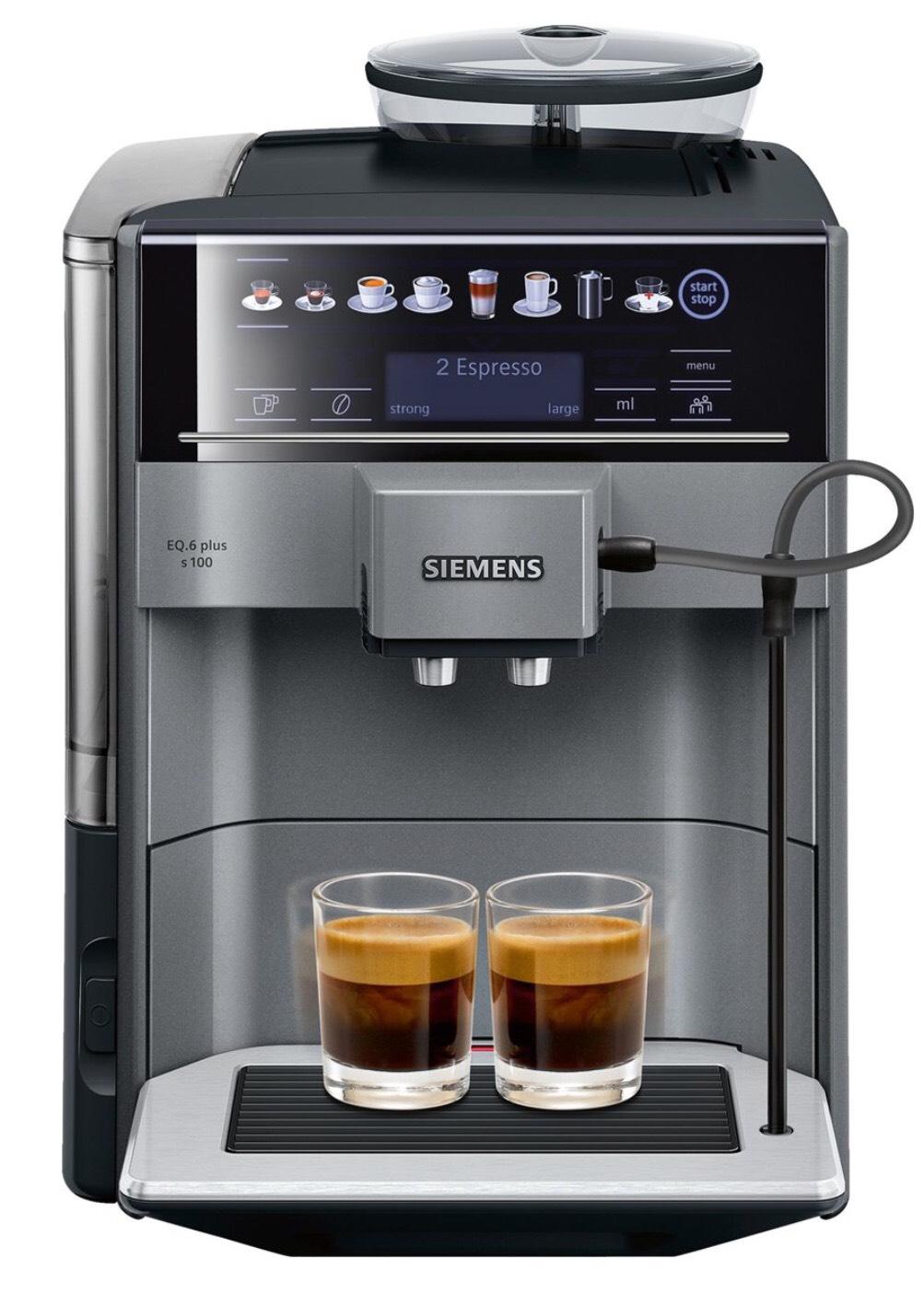 Siemens EQ6 Plus TE651209RW - Espressomachine @Bol.com