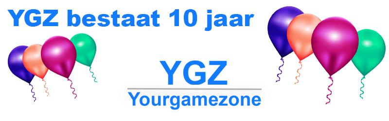 YGZ bestaat 10 jaar: 10% korting op alles