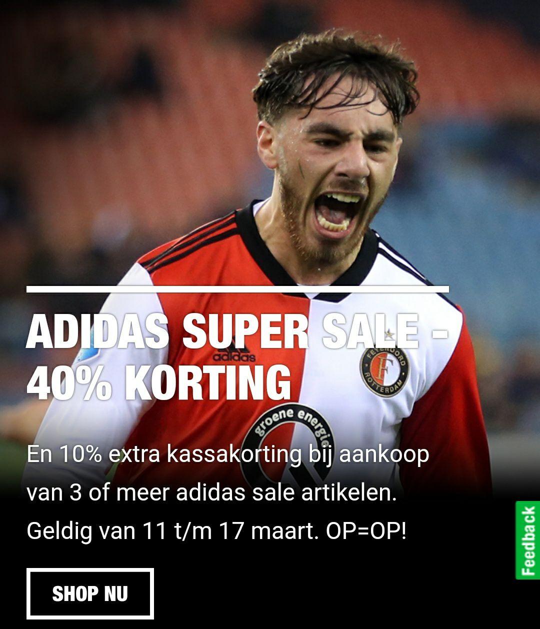 Adidas super sale @Feyenoord Fanshop