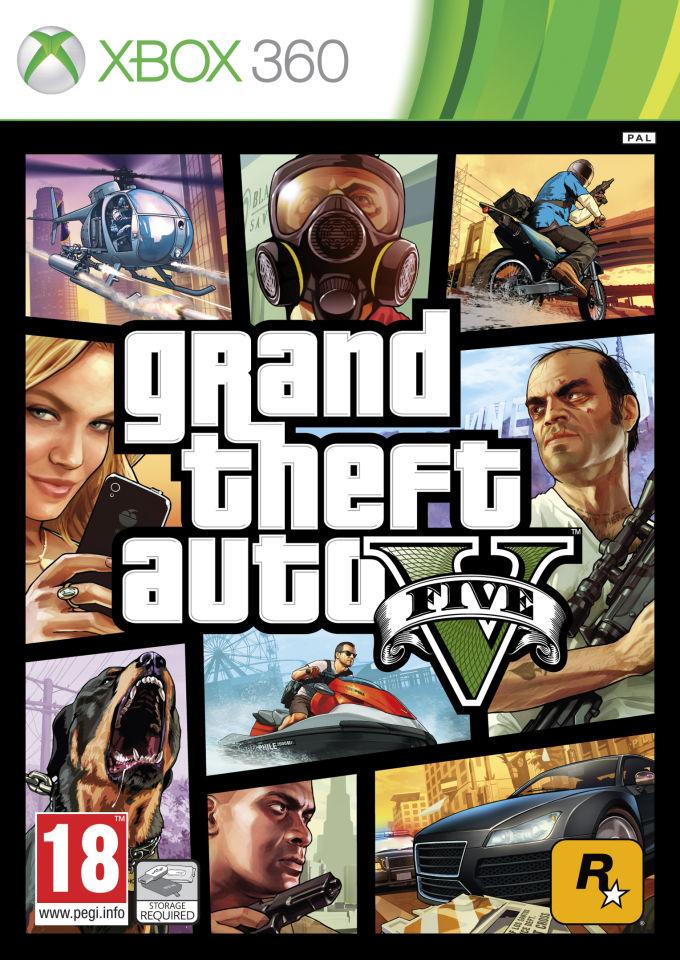 Grand Theft Auto V (Xbox 360) voor € 36,09 @ Zavvi