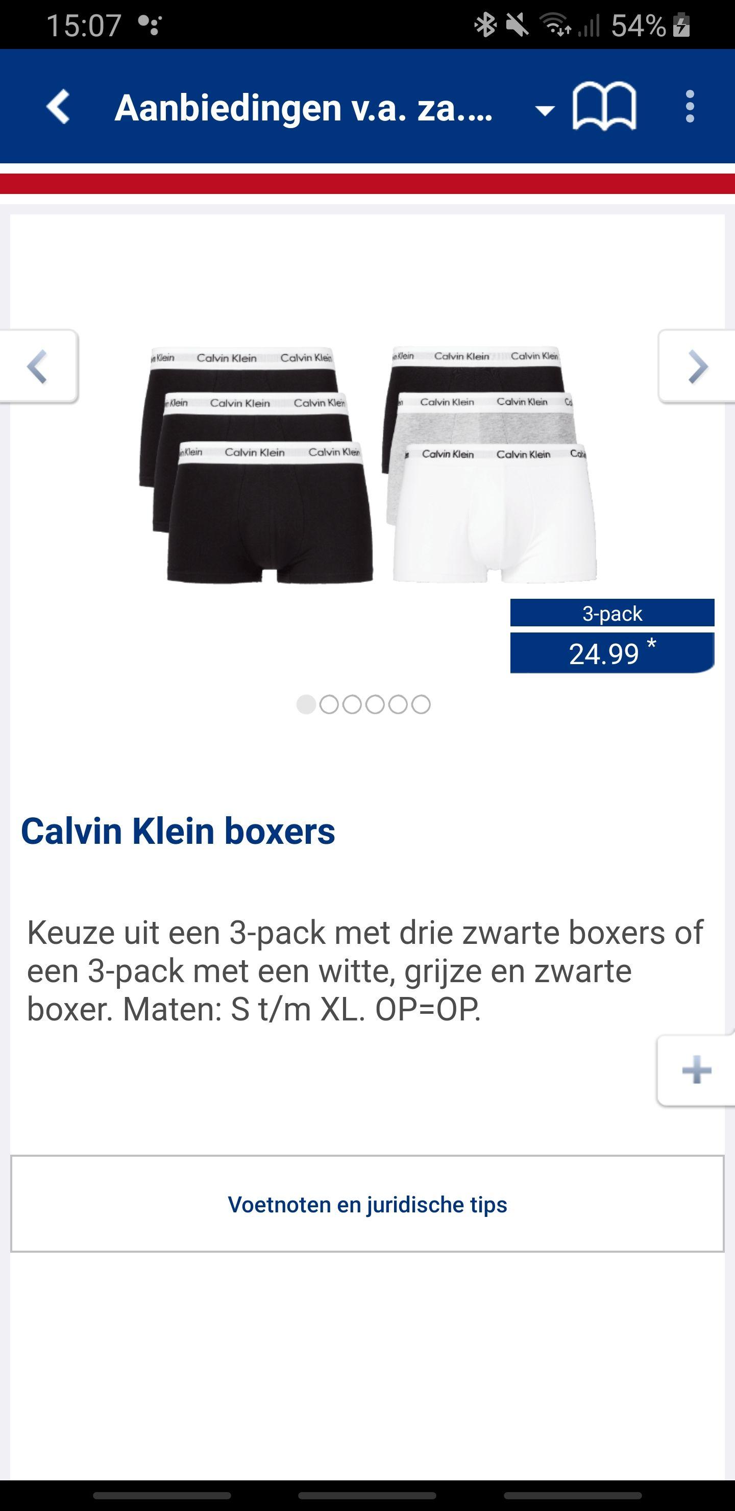 Calvin Klein boxers @Aldi